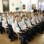 Empfang der neuen Studierenden an der Polizei-Hochschule