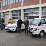 Neue Fahrzeuge bei der Stadtgärtnerei