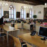 Grundschüler zu Gast im Rathaus