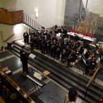 Vielumjubeltes Konzert der Bergknappenkapelle in der Christuskirche