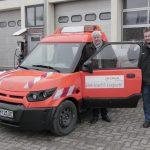 Bauhof testet Streetscooter der N-Ergie