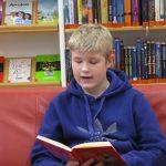 Vorlesen in der Stadtbibliothek