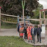 August-Bebel-Spielplatz vorgestellt