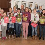 Preisträger des 11. Blumenschmuckwettbewerbs ausgezeichnet