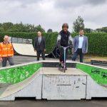 Skateranlage und Bolzplätze wieder geöffnet
