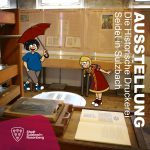 Bertha und Maxl besuchen eine Ausstellung