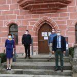 Vorstellung der neuen Leiterin der Stadtbibliothek Christine Hollweck