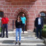 Eva Suttner verstärkt das Team das Städtischen Bauhofs