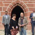Ehepaar Sander zu Gast im Rathaus