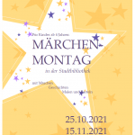 Märchen-Montag in der Stadtbibliothek