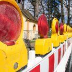 Verkehrsbehinderungen und Straßensperrungen wegen Bau der Fernwärmeleitung