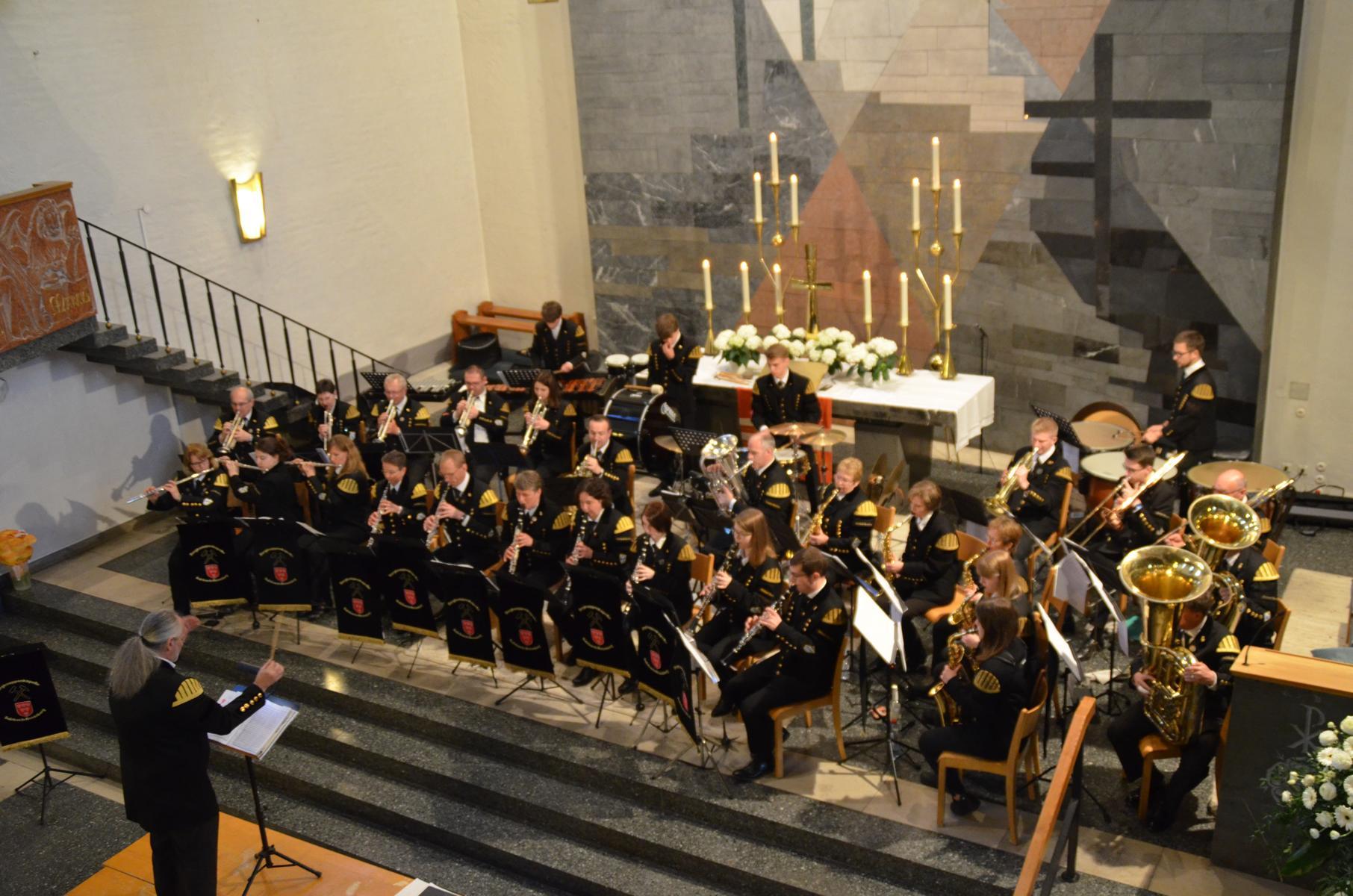 """""""Menschen begeistern"""" beim Konzert der Bergknappenkapelle in der Christuskirche"""
